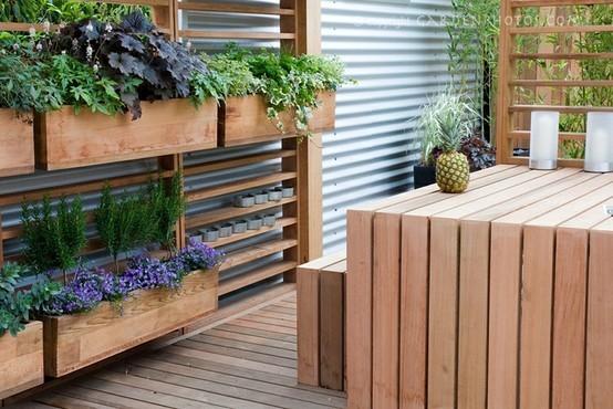 Vegetable garden fence Unique