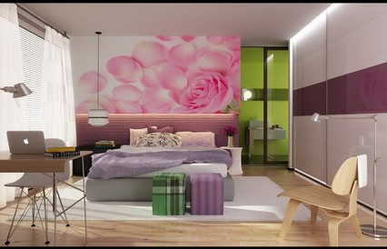 Wall stickers flowers ideas