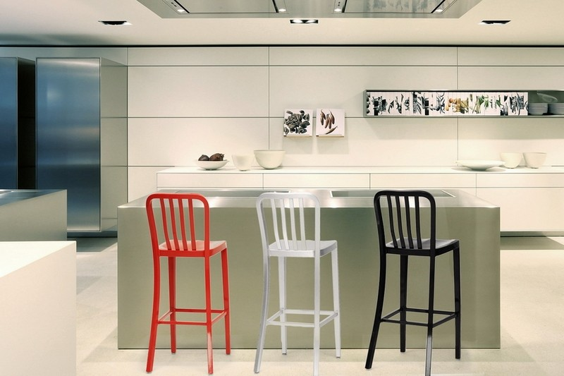 Aluminum bar stools ideas