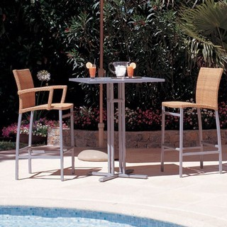 Aluminum bar stools outdoor