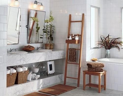 Bathroom storage furniture decor