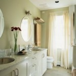 Bathroom window curtains decor