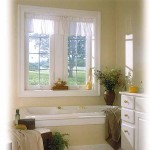 Bathroom window curtains ideas