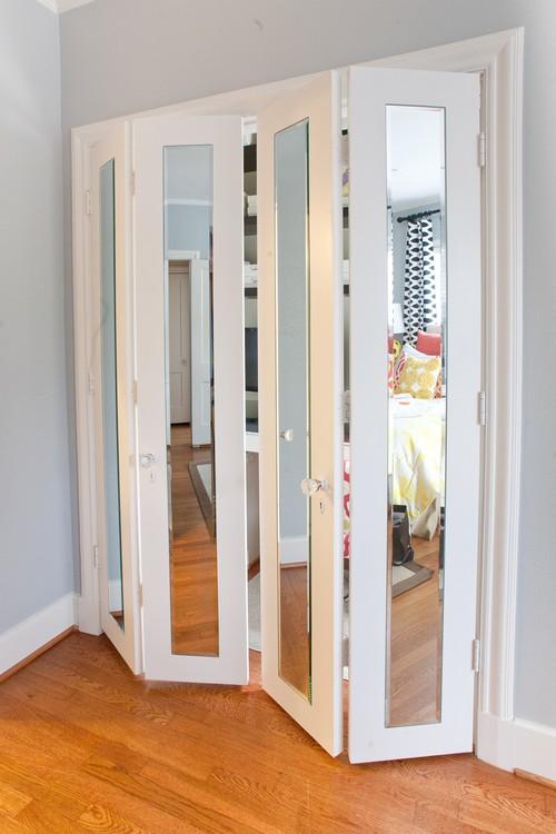 Bifold closet doors modern - Appliance In Home