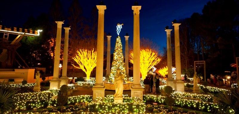 Busch gardens christmas town 2012