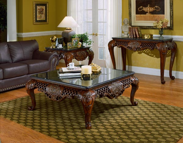 Corner accent table furniture
