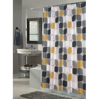 Fabric shower curtains ideas