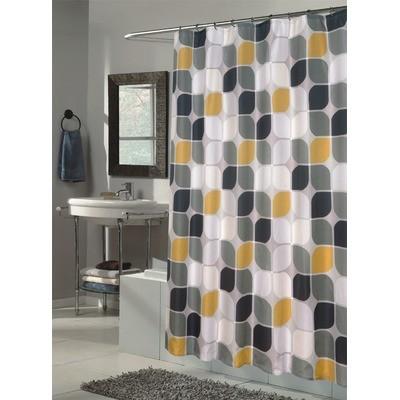 Fabric shower curtains ideas
