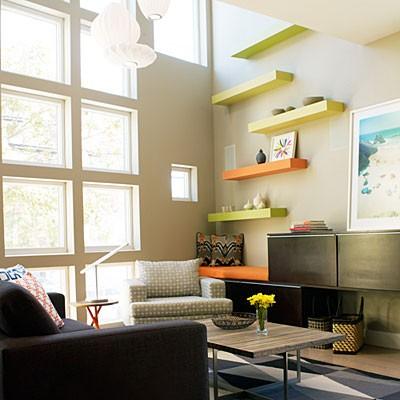 Floating shelves ikea modern