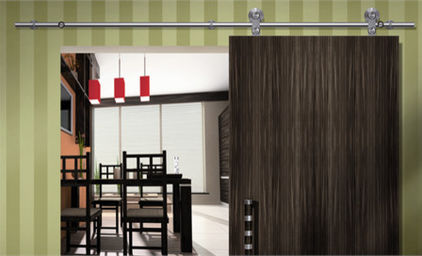 Interior sliding doors decor