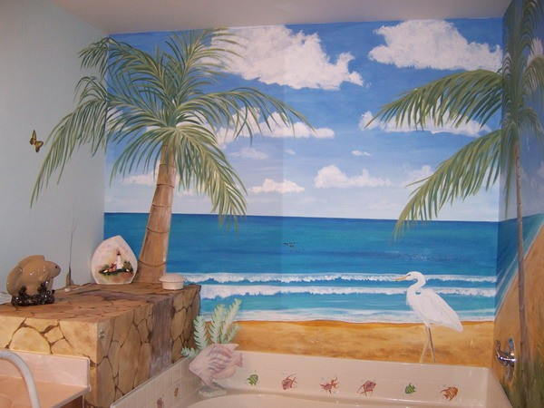 Kids bathroom decor ocean