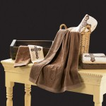 Luxury bath towels decor