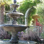 Outdoor garden fountains home depot