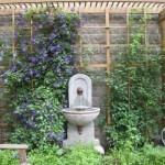 Outdoor garden fountains ideas