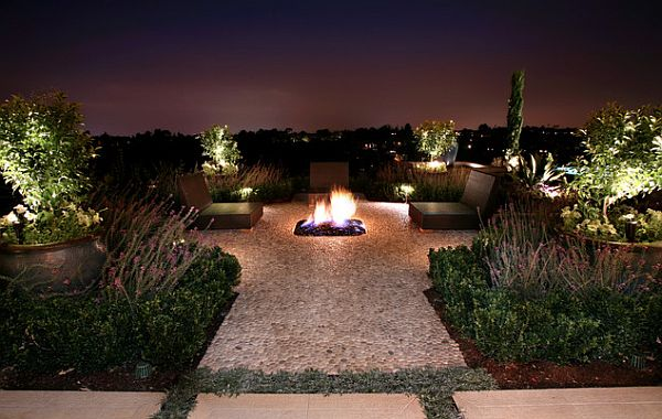 Outdoor party lights modern