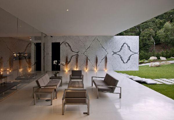 Outdoor wall lighting decor