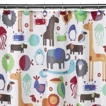 Target shower curtains kids