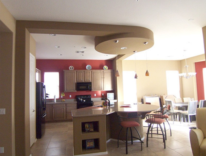 wall color ideas for interior  appliance in home, Home designs