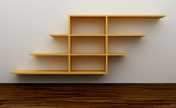 small wooden shelves plans