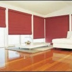 Roman blind pattern design