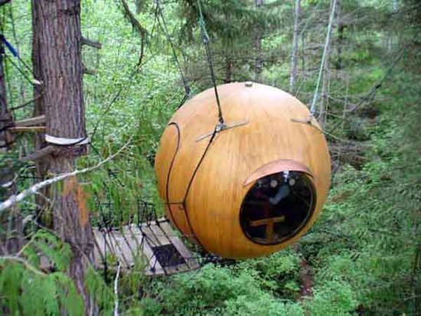 Unique tree house