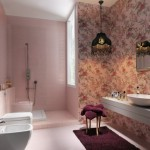 Cool Pink Bathroom 2012