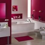 Cool Pink Bathroom decor