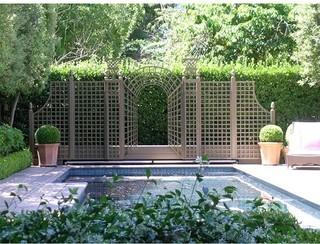 Garden fence design decor