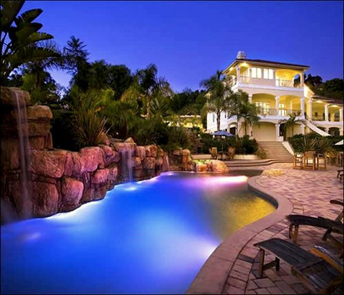 Lighted pool decorations 2012