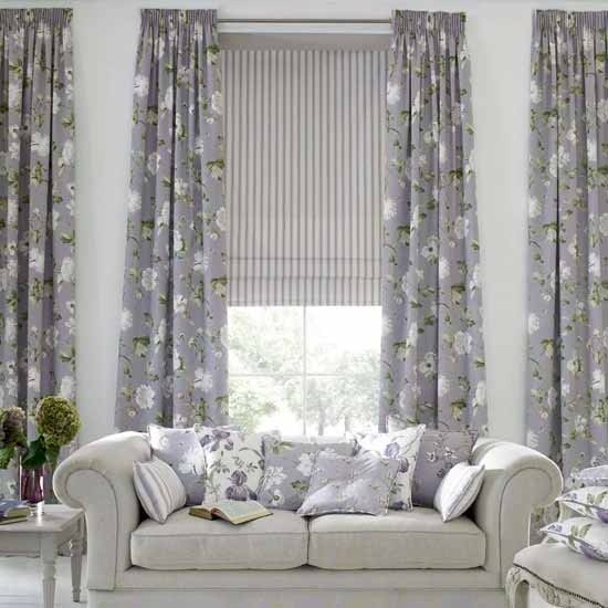 Living room curtain styles 2012