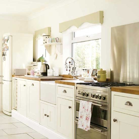 Modern country kitchens decorating