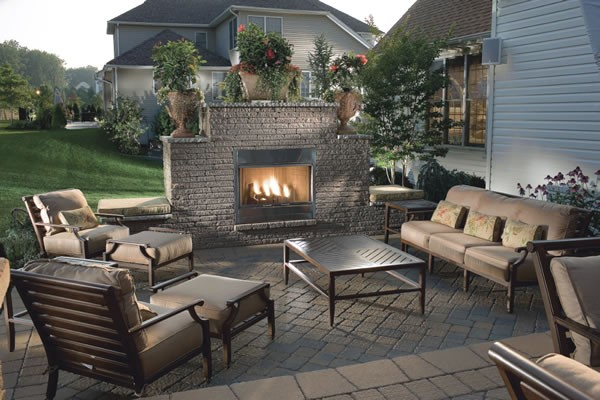 Outdoor patio flooring designs ideas