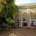 Outside french doors decor