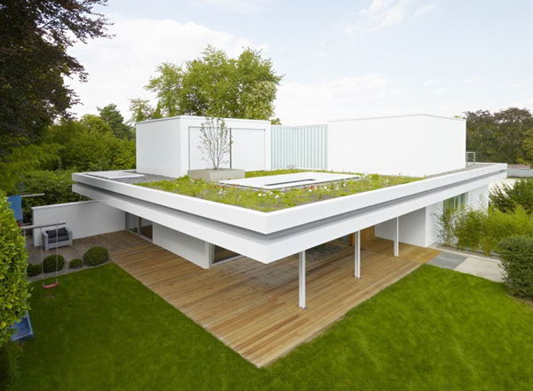 Roof garden design decor