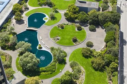 Roof garden design photos