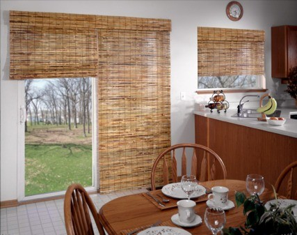 Shades for glass door ideas