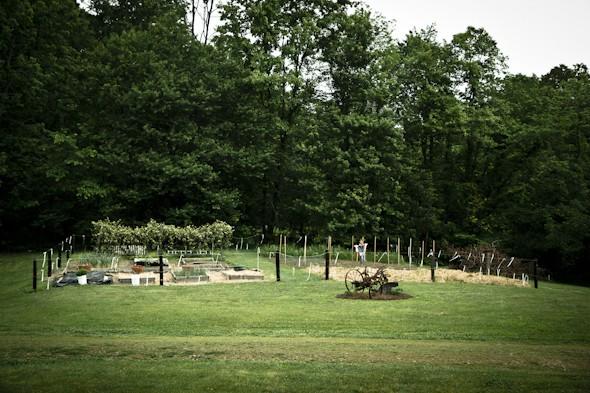 Vegetable garden fence ideas 2012