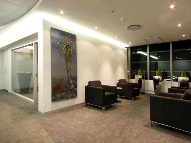 Waiting room interior design 2012
