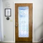 white interior door paint
