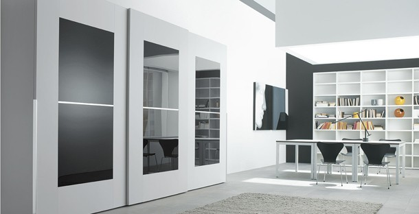 Latest designs of cupboards in bedroom modern