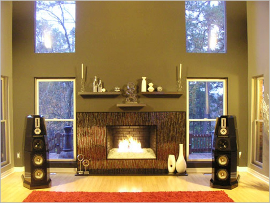 Marble fireplace surround ideas contemporary