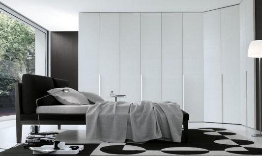 Minimalist wardrobe design ideas