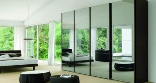 Minimalist wardrobe design modern