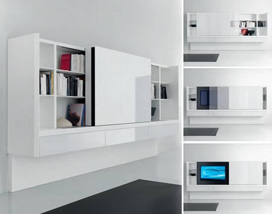 Modern book cabinets decor