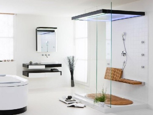 Modern vintage bathroom ideas 2012