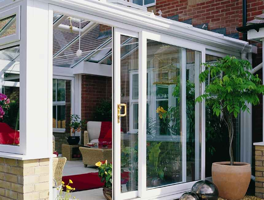 New patio slider door ideas