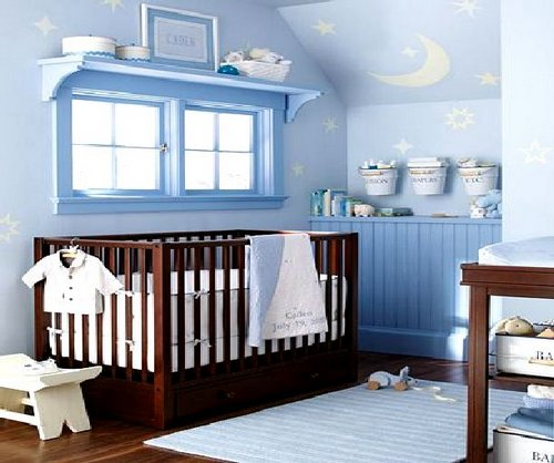 Nursery ideas for small rooms baby
