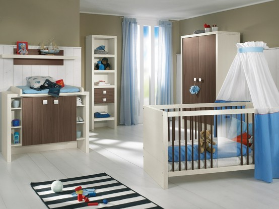 Nursery ideas for small rooms interior