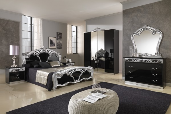 Room designs in black and silver ideas