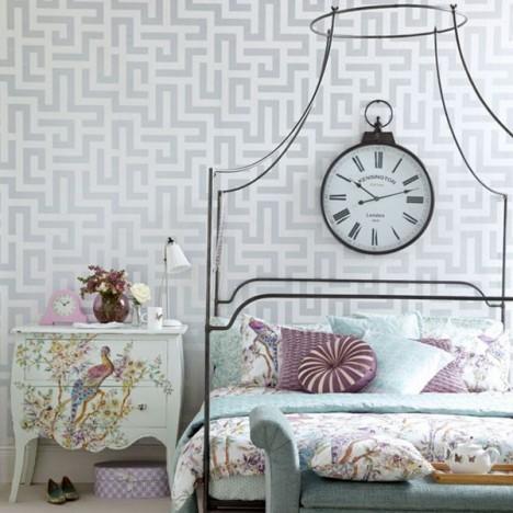 Vintage room wallpaper ideas